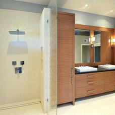Modern Bathroom by JRP Design & Remodel