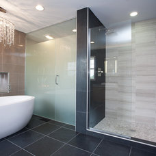 Contemporary Bathroom by Restoration Development, LLC