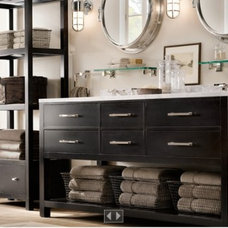 Eclectic Bathroom Restoration Hardware Bathroom