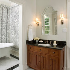 Traditional Bathroom by Lasley Brahaney Architecture + Construction
