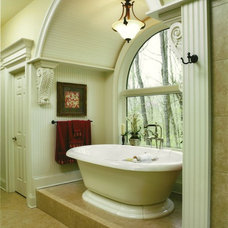 Traditional Bathroom by Albrecht Wood Interiors
