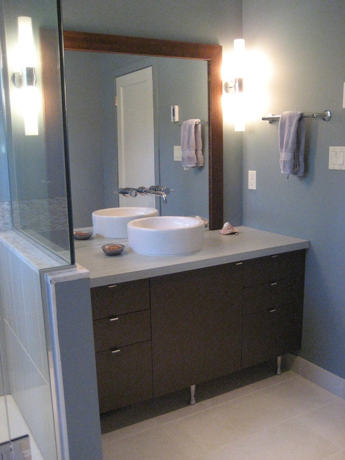 Best Midcentury Bath With Laminate Countertops Design