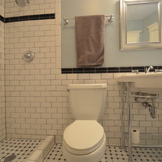 Traditional Bathroom by Aaron's Building Services