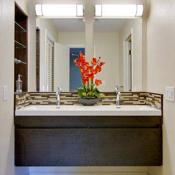 Retro Modern Master Bathroom