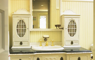 Turn a Favorite Piece of Furniture Into a Vanity