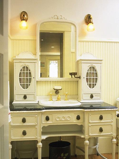 Dresser Turned Into Vanity Houzz