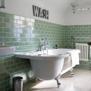 Idées déco pour une salle de bain romantique.