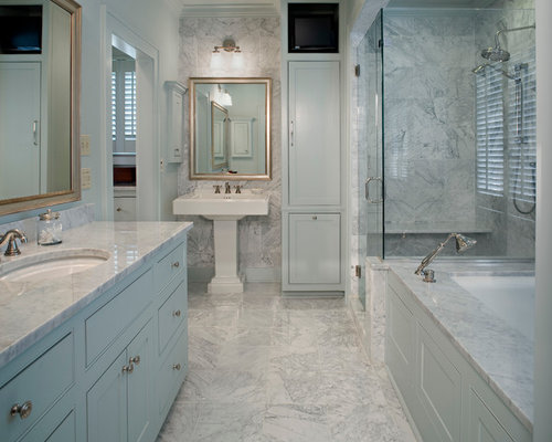 SaveEmail. Houzz   Marble Bathroom Vanity Design Ideas   Remodel Pictures
