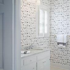 Traditional Bathroom by Kevin L Harris, Architect LLC