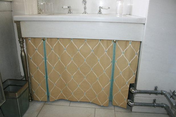 Traditional Bathroom by Masterworks Window Fashions & Design