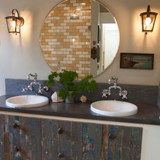 Eclectic Bathroom by Whitney Lyons