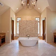 Traditional Bathroom by Michelle Tumlin Design