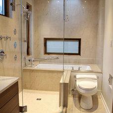 Contemporary Bathroom by Healey Company