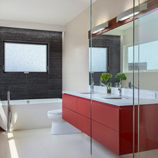 Contemporary Bathroom by Demetriades + Walker