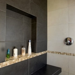 contemporary bathroom Rhodes Architecture + Light