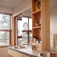 Modern Bathroom Rhodes Architecture + Light