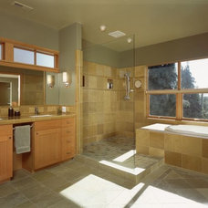 Modern Bathroom Rhodes Architecture + Light