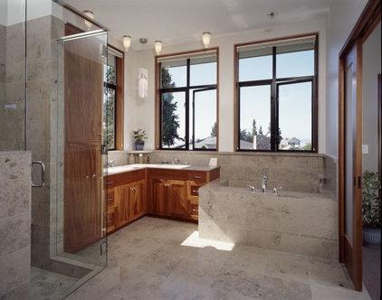 Contemporary Bathroom Rhodes Architecture + Light