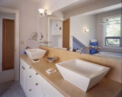 contemporary bathroom Rhodes Architecture + Light, Seattle Architect