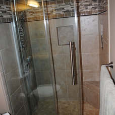 Contemporary Bathroom by Lowe's of Avondale, PA
