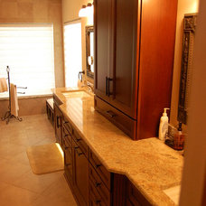 Traditional Bathroom by Adalay Cabinets and Interiors Inc.