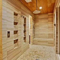 Mediterranean Bathroom by Maison de Reve Builders LLC