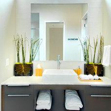 Modern Bathroom by Greico Designers/Builders Dallas