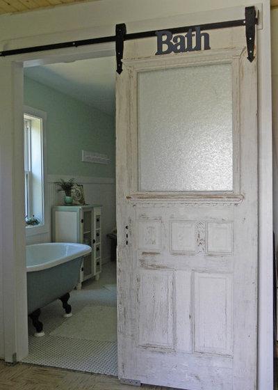 Farmhouse Bathroom by Sarah Greenman