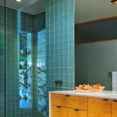 contemporary bathroom by Mark Dodge Design