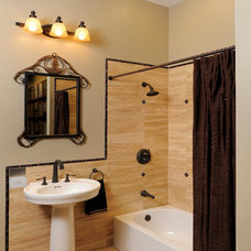 Traditional Bathroom by Mosaic Tile Company