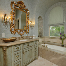 Mediterranean Bathroom by Patrick Berrios Designs