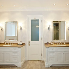 Traditional Bathroom by Manorwood Fine Cabinetry