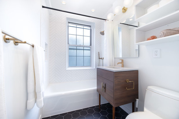 Contemporary Bathroom by Block Renovation