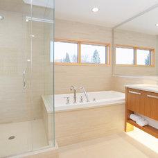 Contemporary Bathroom by Homes by Avi