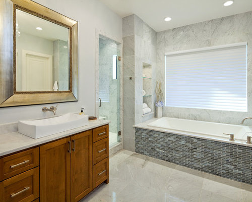 Tile Built In Tub Ideas Pictures Remodel And Decor