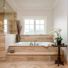 Traditional Bathroom by Jenny Martin Design