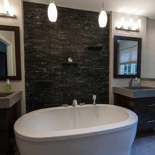 Ridgefield Contemporary Master Bath