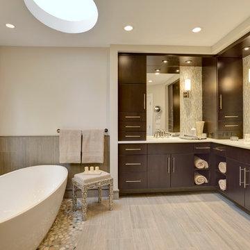 Ridgefield- Master Bath and Hall Bath