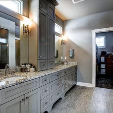 Craftsman Bathroom by Berghuis Construction LLC