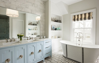 Room of the Day: All-Out Relaxation for a Master Bath