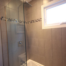 Contemporary Bathroom by Andrew at OakWood
