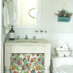 eclectic bathroom by Home & Harmony