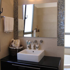 contemporary bathroom by Rina Magen