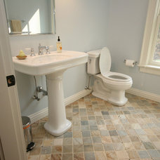 Traditional Bathroom by Stone Creek Construction