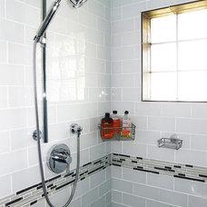 Modern Bathroom by Lauren King Interior Design