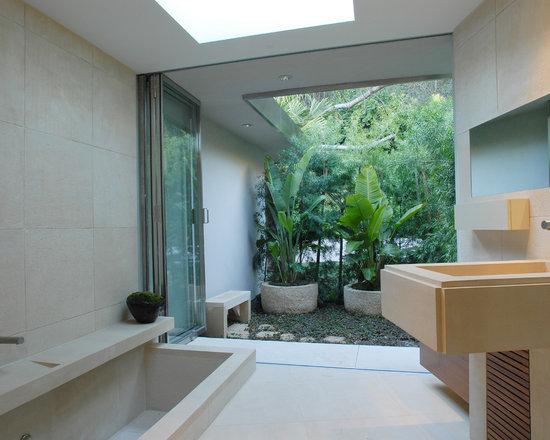 zen garden bathroom design ideas, remodels & photos