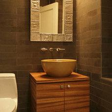 Modern Bathroom by Rodriguez Studio Architecture PC