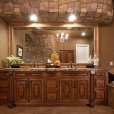 Mediterranean Bathroom by Davis Design Group