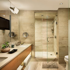 Contemporary Bathroom by Shay Construction, Inc.