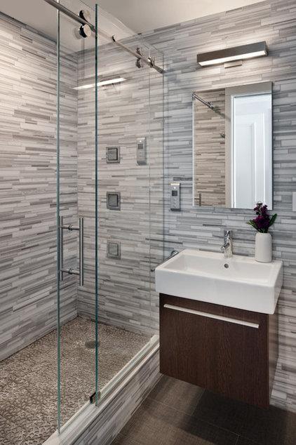 Contemporary Bathroom by CJB DESIGNS LLC